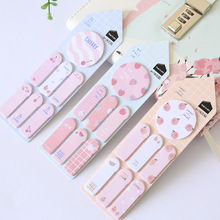 5 pcs/lot Cute Kawaii Memo Pad Sticky Notes Stationery Sticker Index Posted It Planner Stickers Notepads Office School Supplies