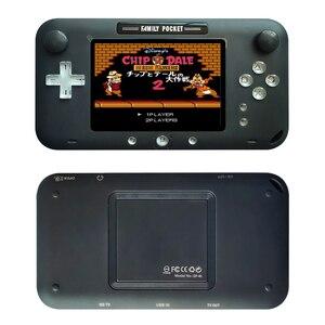 Image 4 - 2019 plus récent 4 pouces grand écran rétro Console de jeu Portable lecteur de jeu vidéo Portable pour Nes jeux HDMI Out Rechargeable