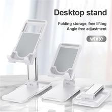 Mobile Phone Holder Stand for iPhone Xiaomi Phone Holder Foldable Mobile Phone Stand Desk for iPad Tablet Desk Holder