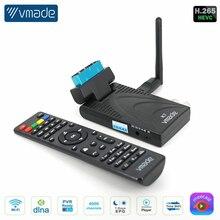 DVB-T2 receptor de tv dvb-t totalmente 1080p sintonizador de tv digital receptor dvb t2 h.265 decodificador terrestre caixa de tv wi-fi venda quente europa Suporte para controle remoto móvel Youtube Meecast M3U