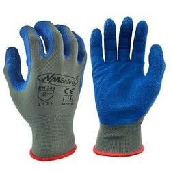 50 пар нейлоновых латексных резиновых рабочих перчаток для садоводства