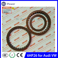 6HP26 Gearbox Automatic Transmission Friction kit Clutch Plates For VW AUDI ZF 6HP 26