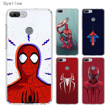 Uyellow Red Spiderman Luxury Phone Case For Huawei Honor 8A 8X 8C 8S 9 9X 10 20 lite Pro Play 20i V20 Silicone Cover