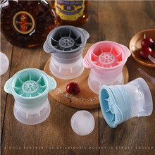 6cm Big Ice Ball Mould Silicone Mold No BPA Round Ice Ball Making Box Kitchen Gadgets Whiskey Accessorie Ice Ball Maker