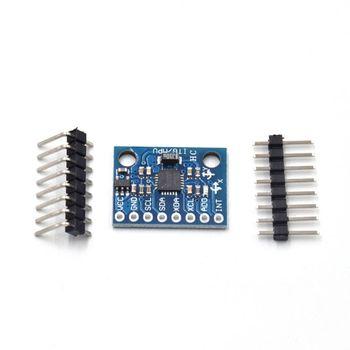 цена на GY-521 MPU-6050 Module 6 DOF 3 Axis Accelerometer Analog Gyroscope Sensor Module 16 Bit AD Converter Data Output IIC I2C