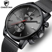 TOP แบรนด์หรูผู้ชายธุรกิจนาฬิกาโครโนกราฟควอตซ์กันน้ำนาฬิกาข้อมือเหล็กเต็มชายนาฬิกา Relogio Masculino
