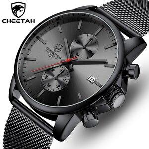 Image 1 - Top Luxury Brand Men zegarki biznesowe chronograf wodoodporny analogowy zegarek na rękę kwarcowy pełny stalowy męski zegar Relogio Masculino