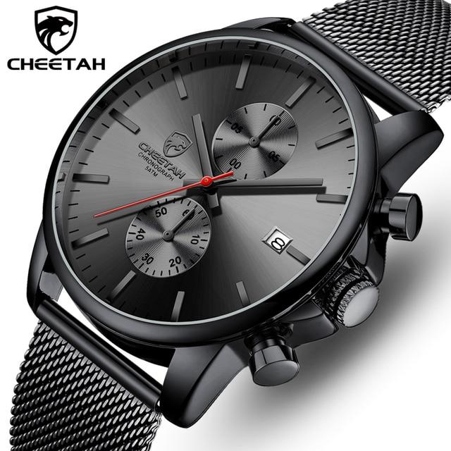 Top Luxury Brand Men zegarki biznesowe chronograf wodoodporny analogowy zegarek na rękę kwarcowy pełny stalowy męski zegar Relogio Masculino
