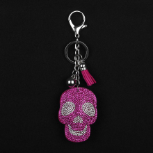 Брелок для ключей на Хэллоуин, брелок с расцепной брелок, брелок с бриллиантами, подарок на Хэллоуин