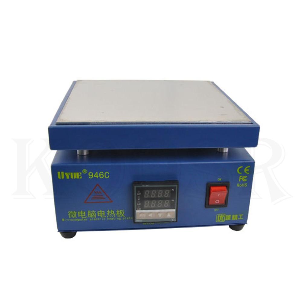 UYUE 946C dual digital display adjustable constant temperature heater mobile phone screen separator electromechanical heater