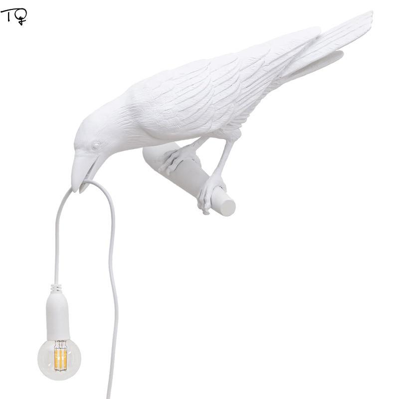 Italian Seletti Bird Lamp Led Table Lamp Art Decorative Home Desk Lamp Seletti Bird Animal Furniture Living Lamp Study Studio