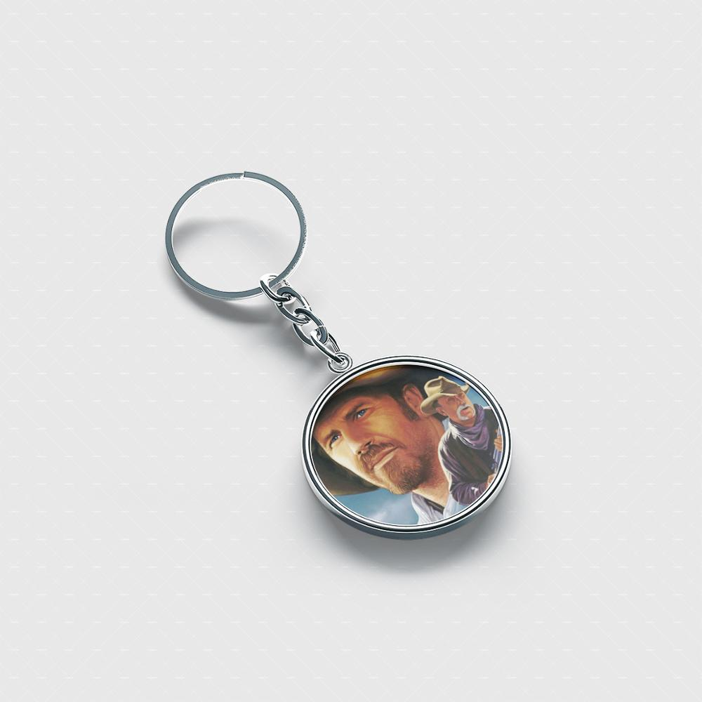 Robert Duvall Best personalized keychain Cute cool accessories custom keychains for men women kids image