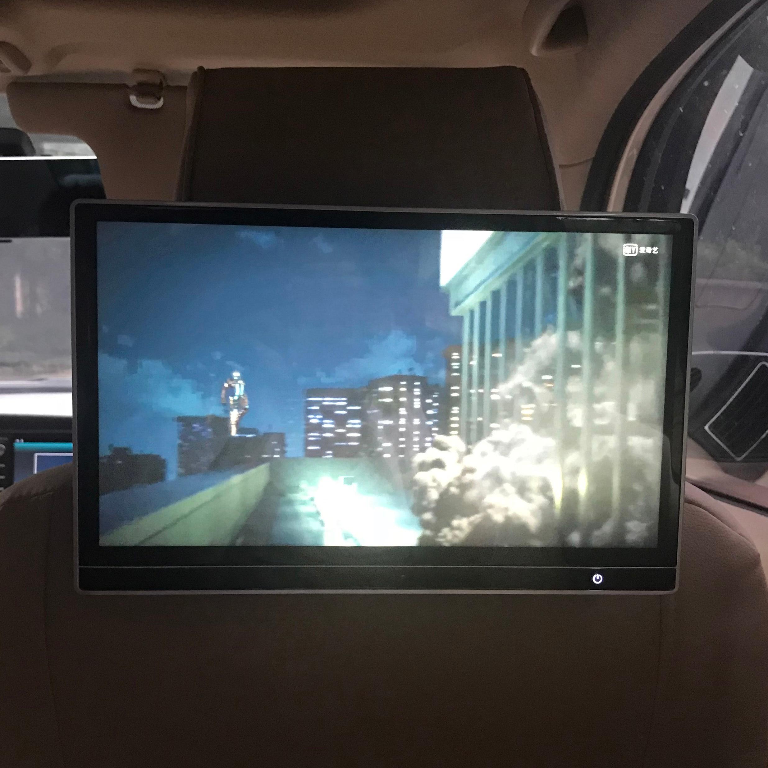 12,5 дюймов Автомобильная Android 8,1 развлекательная система заднего сиденья Aux Fm ИК передатчик Bluetooth HDMI USB для Cadillac ATS XT6 CTS DTS