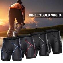 Padded Shorts Cycling Lixada Underwear Bike Men with Anti-Slip Leg-Grips 3D Riding