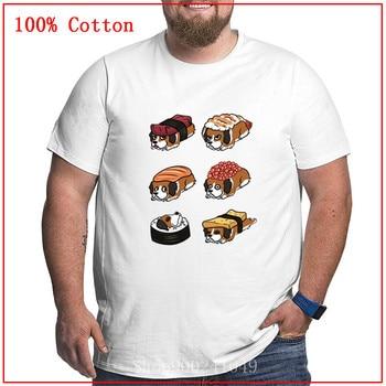 Camisetas de San Bernardo Sushi Nigiri para hombre de gran tamaño, regalo...
