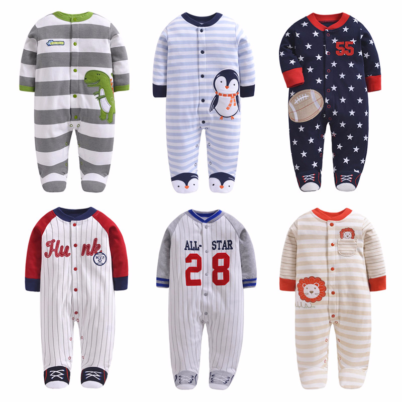 Newborn baby   Rompers   boy girl clothes baby pajamas baby climb clothing cotton toddler boys girls sleep wear clothes