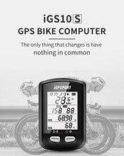 Igpsport igs10s gps ciclismo computador bluetooth 5.0 ipx6 à prova dwaterproof água ant + velocímetro bicicleta sem fio acessórios novo