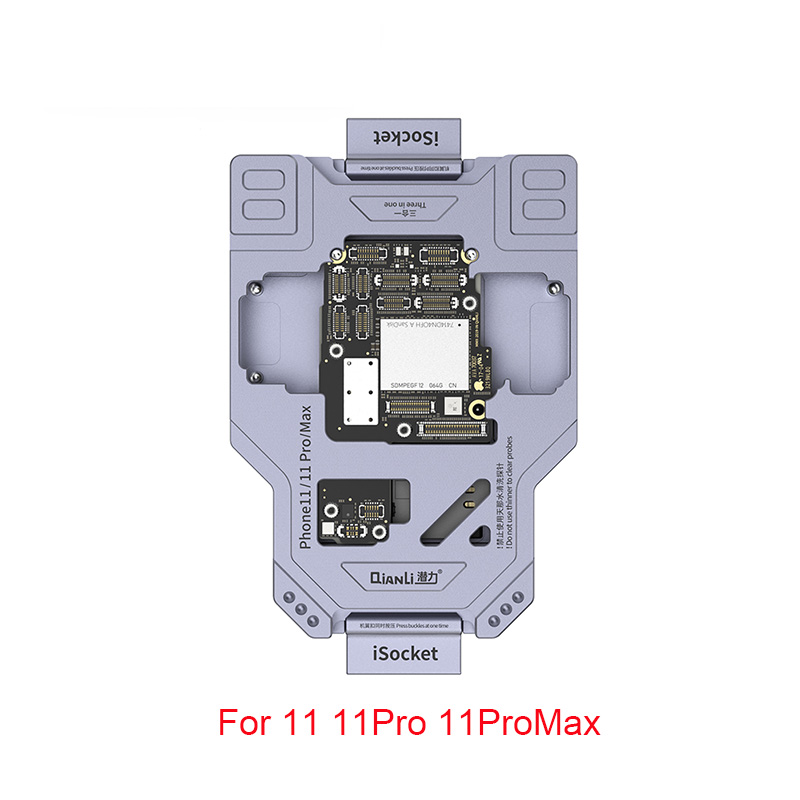Diagnostic For Phone Motherboard Quick Function Logic Jig ISocket Tester 11pro Max Qianli Board 11Pro 11 Testing