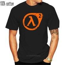 Meia vida 2 tshirts jogo xen g-man engraçado t camisas dos homens 100% algodão verão outono preto t camisa 2020 impressão logotipo design t