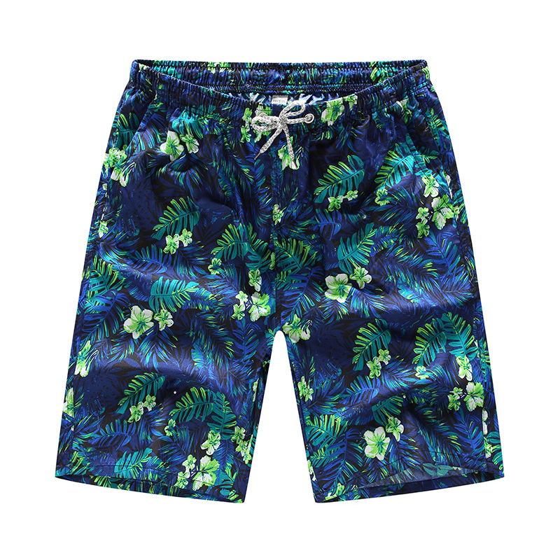 Beach Shorts Men Summer Casual Quick-Drying Printing Fashion Vintage Breathable Gym Streetwear Male Oversize Sport Jogging Board