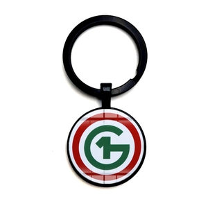 2020 Fashionable and Attractive 01G Keychain Fashion Simple Cartoon Glass Cabochon Alloy Keychain Collection Keychain Jewelry