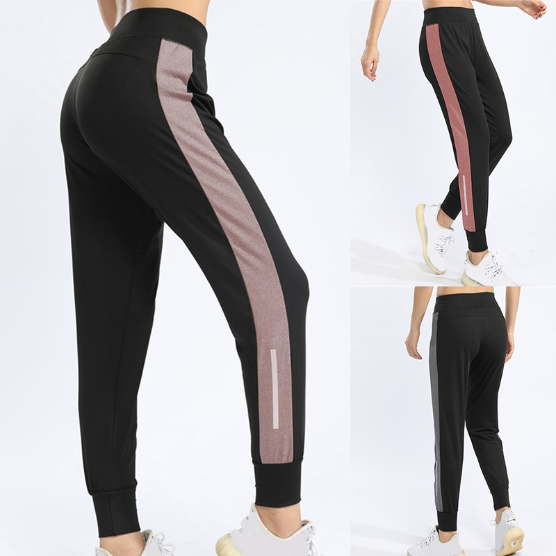 Puimentiua 2020 New Summer Satin Cargo Pants Women Europe Loose Casual Sport Women Joggers Streetwear Cargo Pants Women