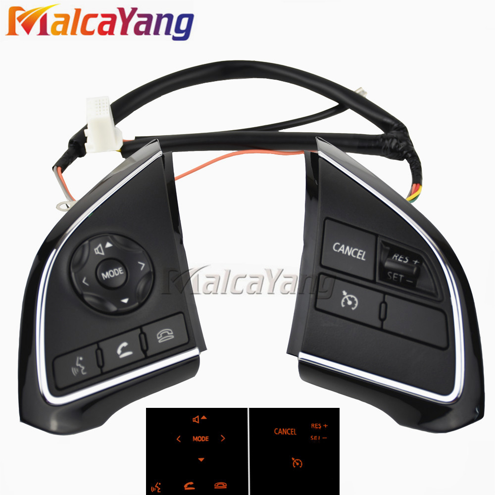 Image 4 - Phone Cruise Control steering wheel switch Auto Spare Parts steering wheel buttons For Mitsubishi Outlander 2013 2015 2016 2018-in Car Switches & Relays from Automobiles & Motorcycles
