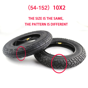 Image 3 - 10x3.0 10x2.50 10x2..25 10x2.125 10X2 10X2.0 WHEEL  tire Electric Scooter Balancing Hoverboard Tire 10 inch tyre Inner Tube