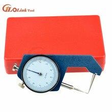 Толщина циферблата 0-20 мм кожа толщина металла тестер измерения кожевенное ремесло инструмент Ремесло 0-10 мм Калибр