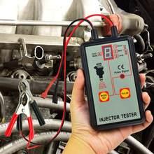 EM276 profesional probador del inyector de 12V 12V del inyector de combustible 4 Pluse probador de modos poderoso sistema de combustible herramienta EM276 coche de