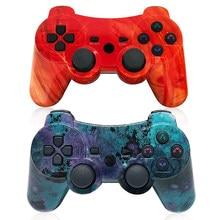 K ISHAKO Wireless Gamepad Replacement for Sony Original PS3 Controller Mando Upgraded Joystick Sensitive Sensor Control