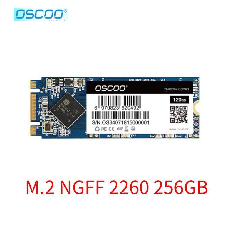 Твердотельный накопитель Oscoo 256g M2 2260 500 Гб SSD M.2 SATA 120 ГБ 240 ГБ 500 Гб M.2 NGFF SSD Размер 2260 мм SSD HDD жесткий диск для компьютера ноутбука