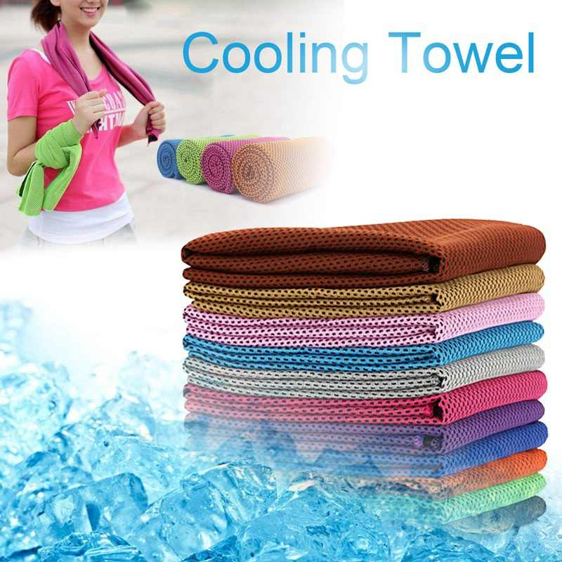 Summer Ice Cold Cool Towels Cooling Towel for Sport Running ...