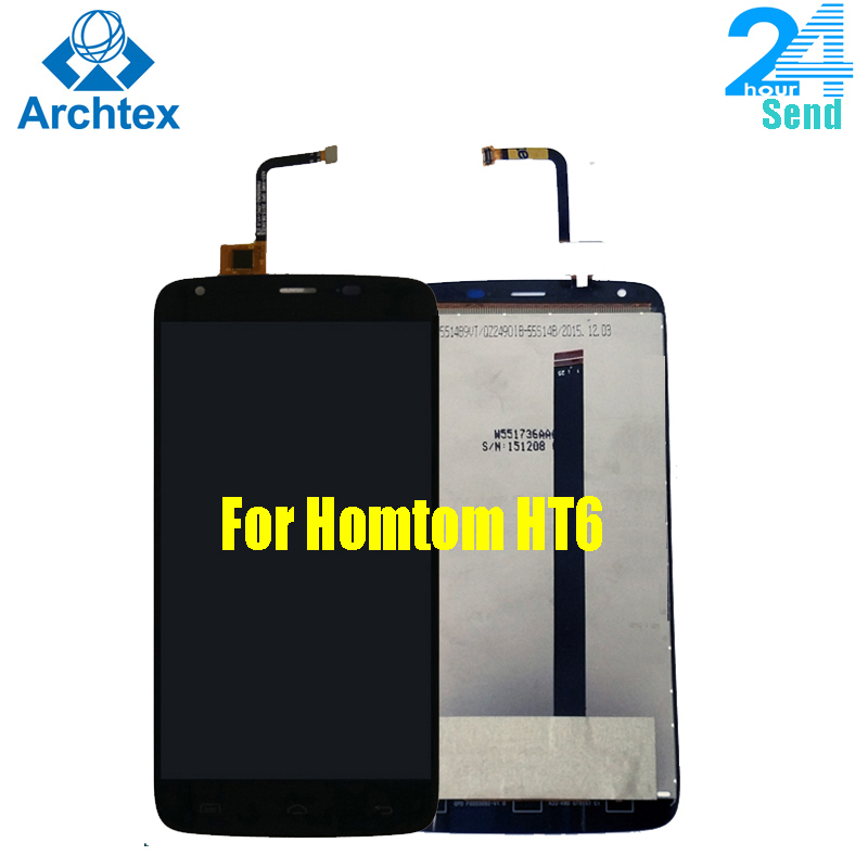 """For 100% Original HomTom HT6 LCD Display +Touch Screen Screen Digitizer Assembly Replacement 5.5"""" For Homtom HT6/HT6 Pro Stock(China)"""