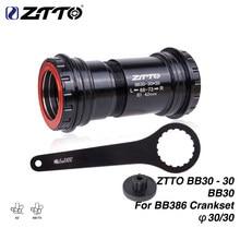 ZTTO – support de pédalier pour vélo de route, BB30, BB386, avec verrouillage à pression de 30mm, 4 roulements, cnc BB