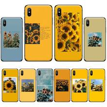 Flower Sunflower Rose Custom Photo Soft Phone Case For iphone 4 4s 5 5s 5c se 6 6s 7 8 plus x xs xr 11 pro max nand pro box ip nand pro for iphone 4 4s 5 5c 5s 6 6p supported for ipad 2 3 4 5 6 supported