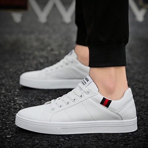 UNN New Designer Red Sneakers For Men Shoes Leather Walking 2020 Spring Luxury High Quality Casual Shoes Flats Mens Footwear Multan