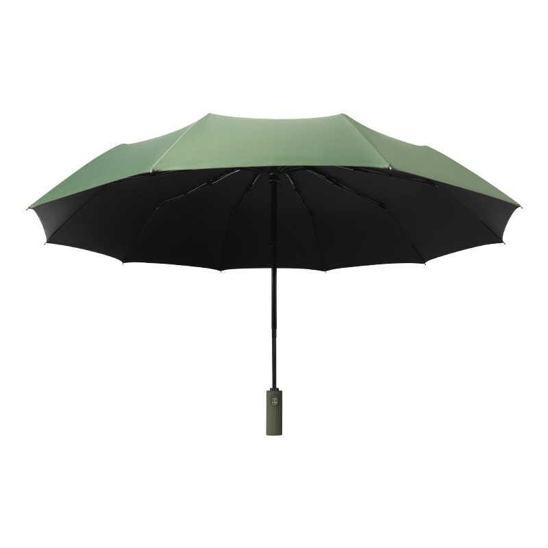 自動ビジネス傘男性 3 男性女性パラソル傘雨女性防風傘着色されたハンドル