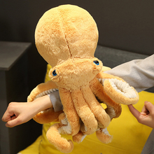 Stuffed Dolls Pillow Plush-Toys Back-Cushion Octopus Sea-Animal Lifelike Children Birthday-Gifts