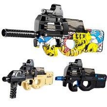 P90 Elektrische Wasser Pistole Spielzeug Weichen Wasser Paintball Gel Blaster CS Assault Jungen Waffe Pistole Sniper Neffen Geschenke Spielzeug