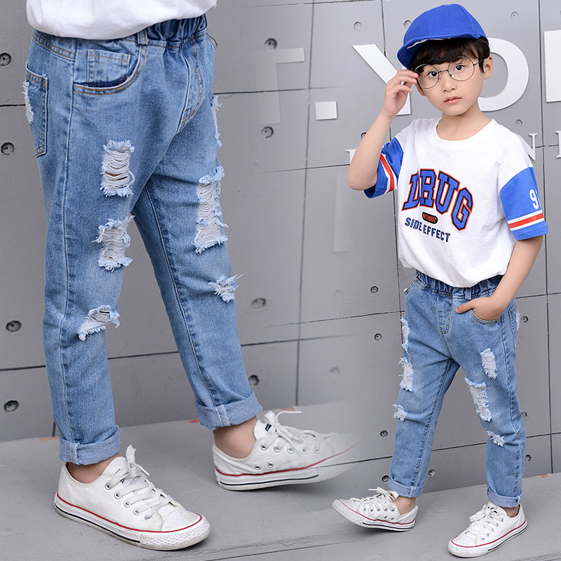 cintura longa criancas calcas nova moda solto 02