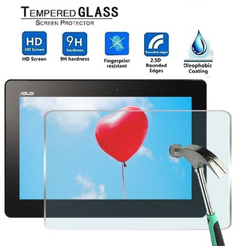 For Asus Transformer Book T100TA -Premium Tablet 9H Tempered Glass Screen Protector Film Protector Guard Cover for teclast p10 9h premium tablet tempered glass screen protector film protector guard cover