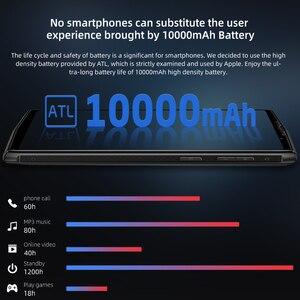 Image 2 - Doogee N100 Del Telefono Mobile 10000mah Batteria da 5.9 pollici FHD + Display 21MP + 8MP Della Macchina Fotografica 4GB di RAM 64GB di ROM Octa Core MT6763 4G Smartphone