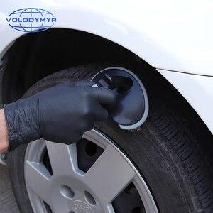 Image 4 - Escova de roda de Pneu Mais Limpo Universal TPR Lidar com o Super Stiff Cerdas Ferramentas para Limpeza Do Carro Detalhamento Auto Lavar Detalhe