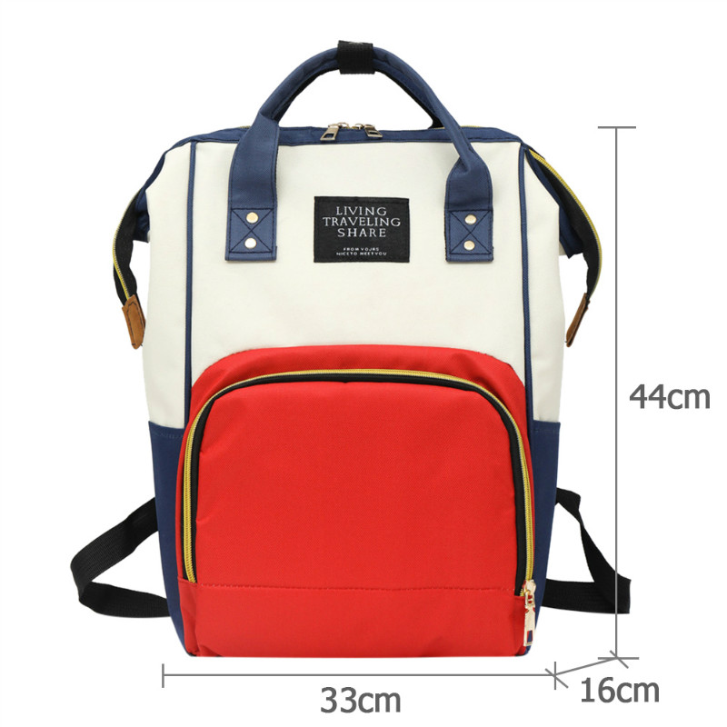 H63a75ae28ed24cf485a98aa0e1eb0c59t Large Capacity Mummy Diaper Bags Zipper Mother Travel Backpacks Maternity Handbags Pregnant Women Baby Nappy Nursing Diaper Bags