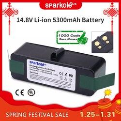 5,3 Ah Batería de Li-ion de 14,8 V para iRobot Roomba 500, 600, 700, 800 Series 510, 530, 550, 560, 580, 620, 630, 650, 760, 770, 780, 790, 870, 880 R3
