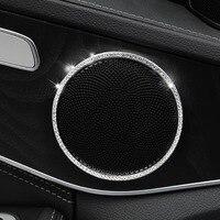 Door speaker frame For Mercedes w213 amg Mercedes w205 amg/glc x253 coupe amg mercedes c class accessories w205 interior trim