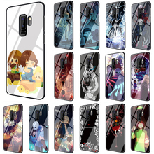 Undertale Game Art Tempered Glass phone case for Sa