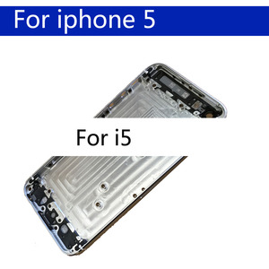 Image 2 - For iphon 5 5S SE Battery Cover Door Housing Back Housing Shell Chassis Middle Frame body rear case
