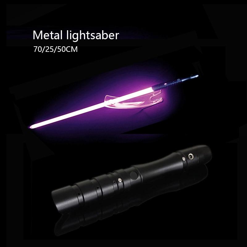 Lightsabe Metal Toys Light Saber Sword De Luz Kpop Lightstick Laser Stick Luminous Espada Brinquedos Juguetes Brinquedo Oyuncak